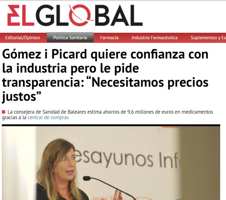 EL GLOBAL Eficiencia